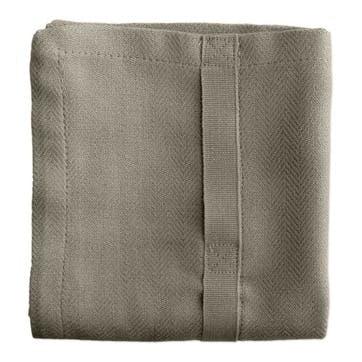 Herringbone Kitchen Towel, L86 x W53cm, Clay