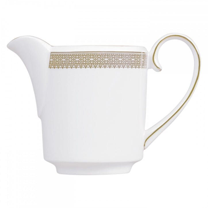 Lace Gold Cream Jug