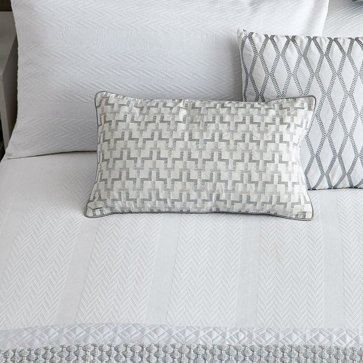 Reece Cushion, White