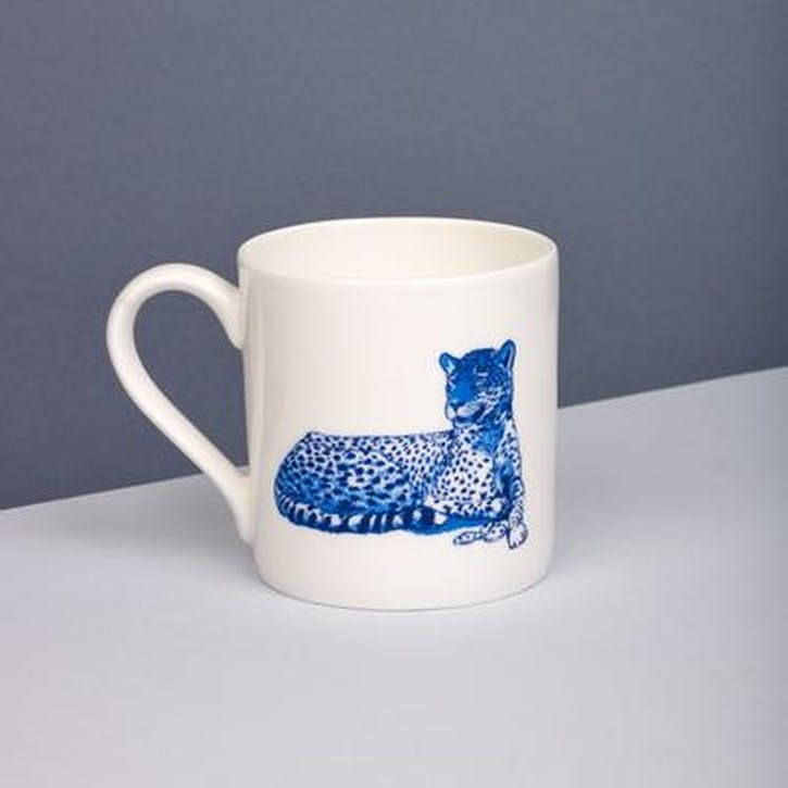 Leopard Willow Mug