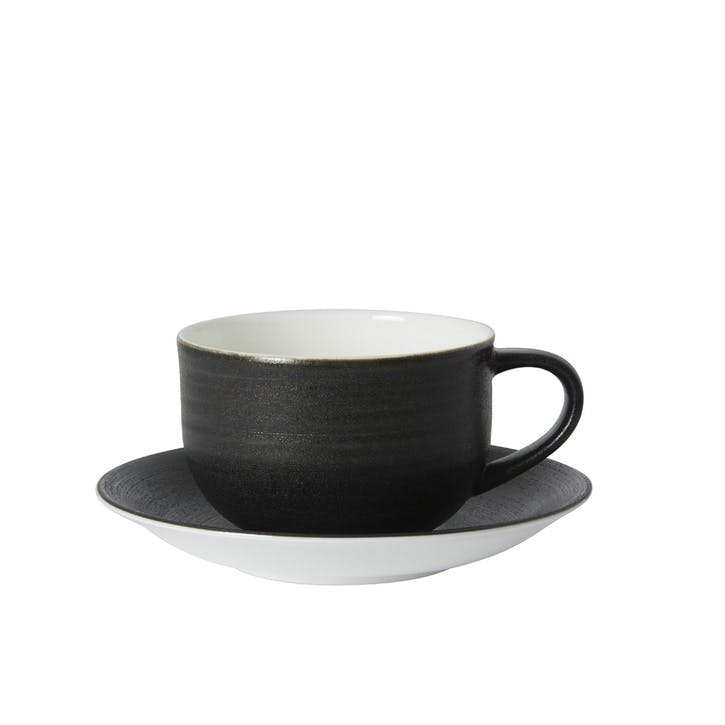 Studio Glaze Urban Tea Saucer - 12oz; Midnight