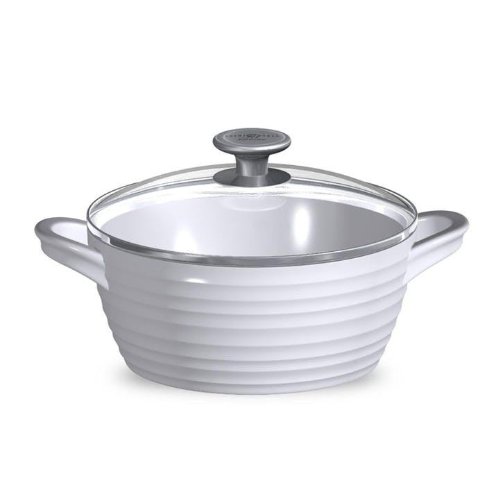 Large Casserole Dish; White