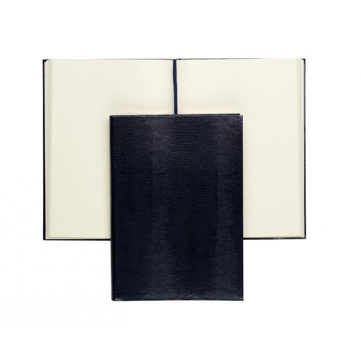 Jubilee Faux-Leather Medium Plain Journal, Black