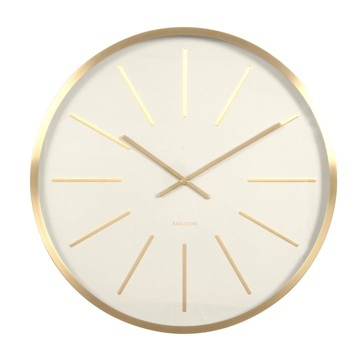 Maxiemus Wall Clock, White