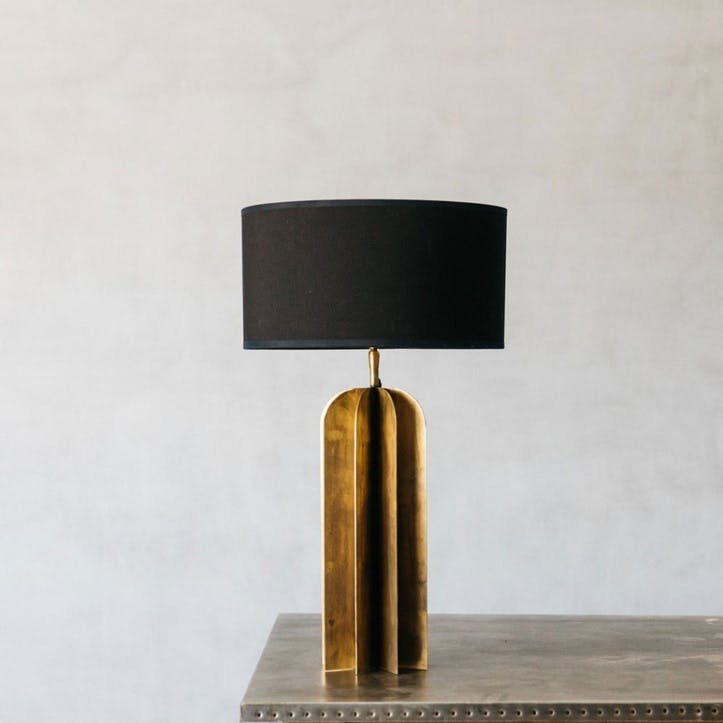 Metal Junction Table Lamp