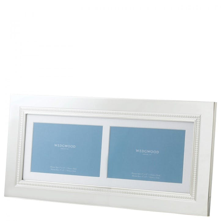 Simply Wish Double 13x7 Photo Frame