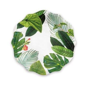 Amazon Floral Melamine Dinner Plate, 30cm