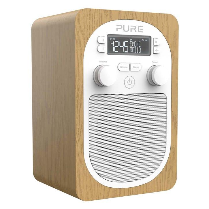 Evoke H2 DAB Radio - Oak