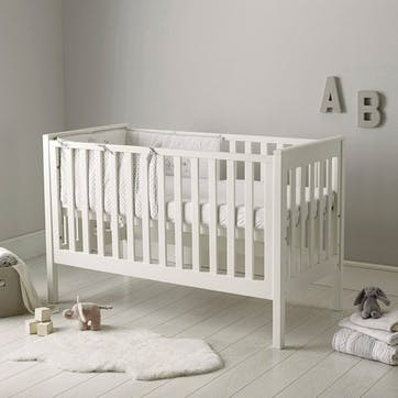 Classic Cot Bed, White