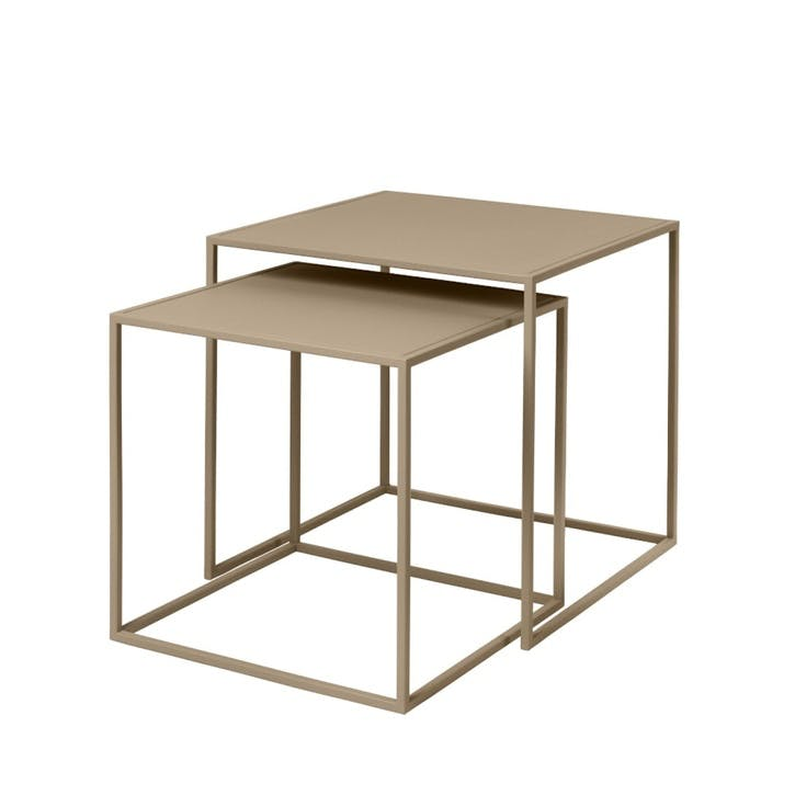 Fera Set of 2 Side Tables, Nomad