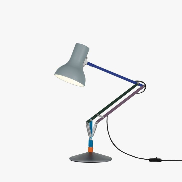 Mini Desk Lamp Multicolours and Grey