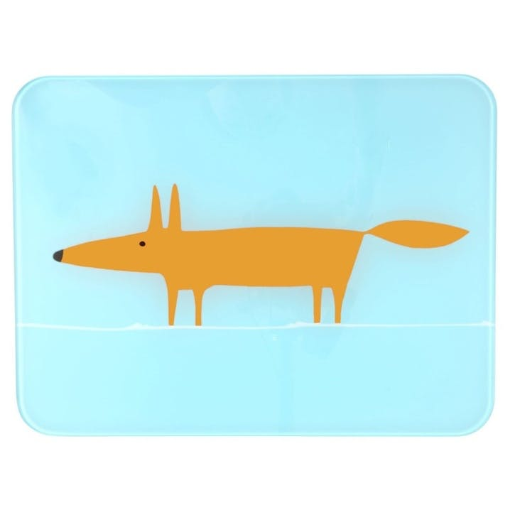 Mr Fox Worktop Saver, Blue