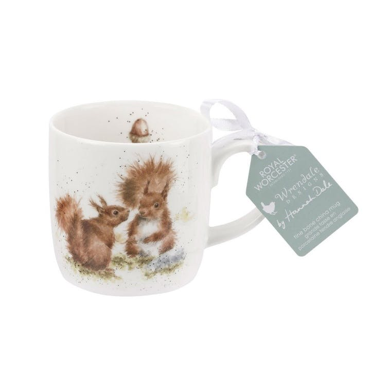 Wrendale Fine Bone China Mug; Between Friends