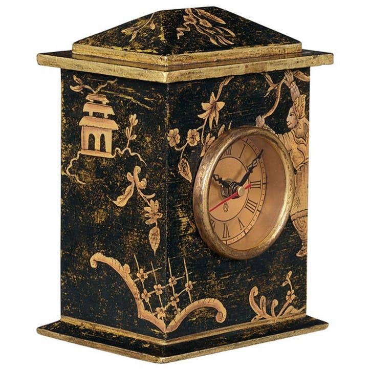 Chinoiserie Carriage Clock