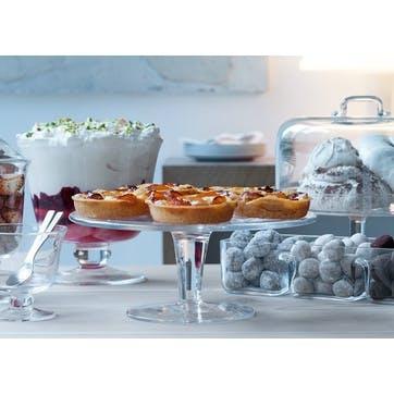 LSA Serve Cake Stand & Dome 26cm