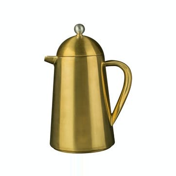 Edited Thermique Cafetière, Brushed Gold, 8 Cup