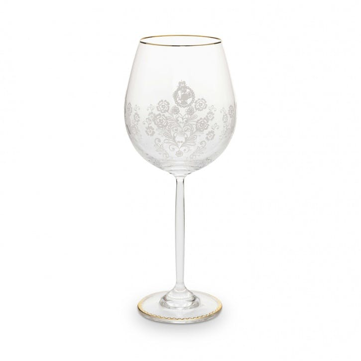 PiP Floral Wine Glass