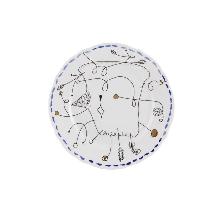 Folkifunki Dessert Plate