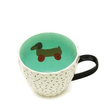 Standard Mug, Dog on Wheels, 350ml