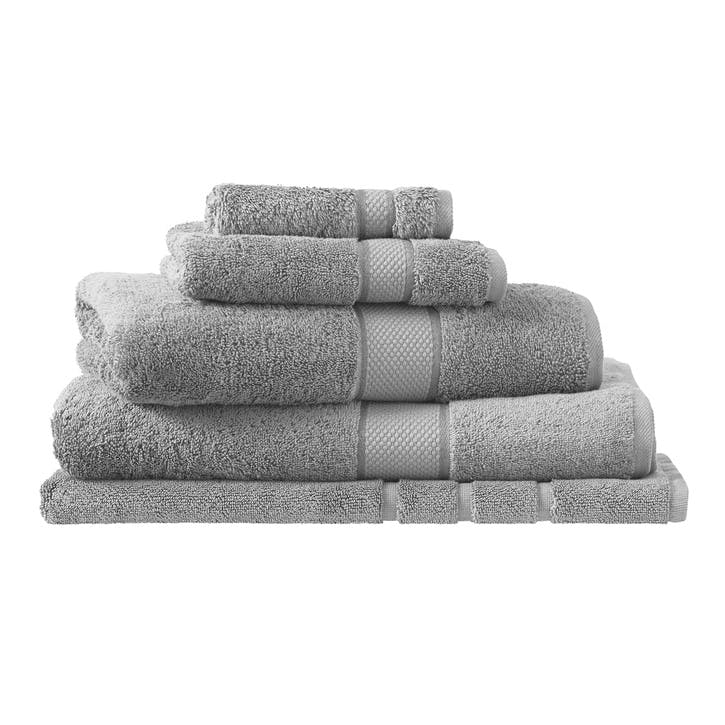 Luxury Egyptian Cloud Grey Bath Towel