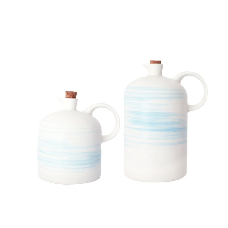 Charmouth Vinegar and Oil Bottle Set