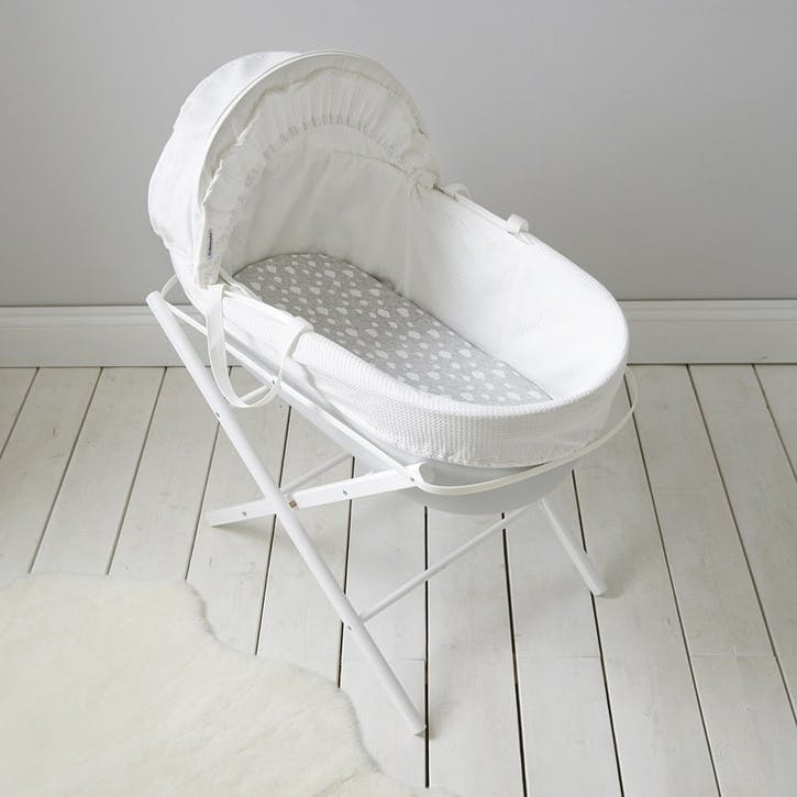 Classic Moses Basket, Cool Grey
