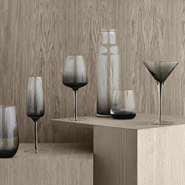 Smoke Champagne Glass