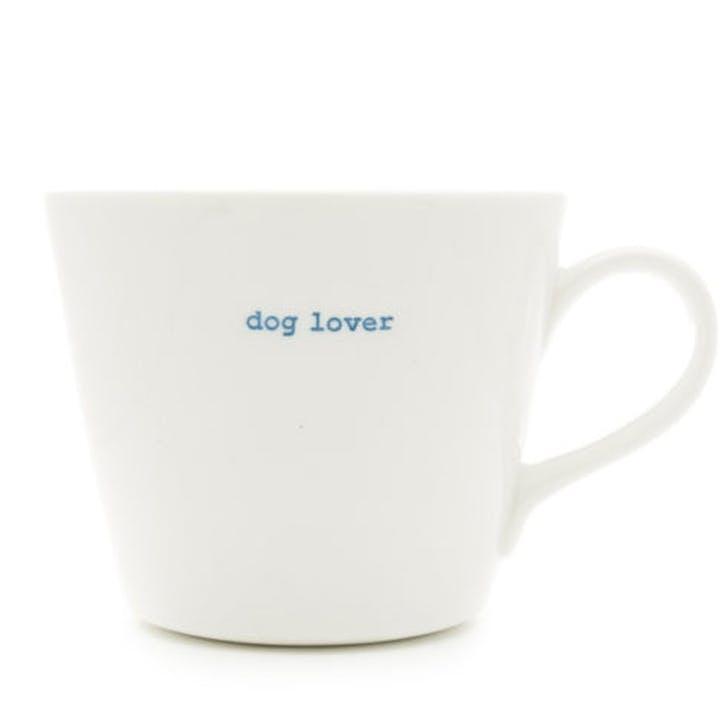 'Dog Lover' Bucket Mug, 350ml