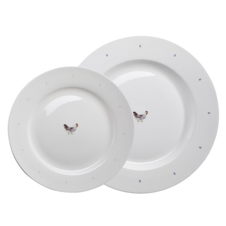 'Chicken' Solo Dinner Plate