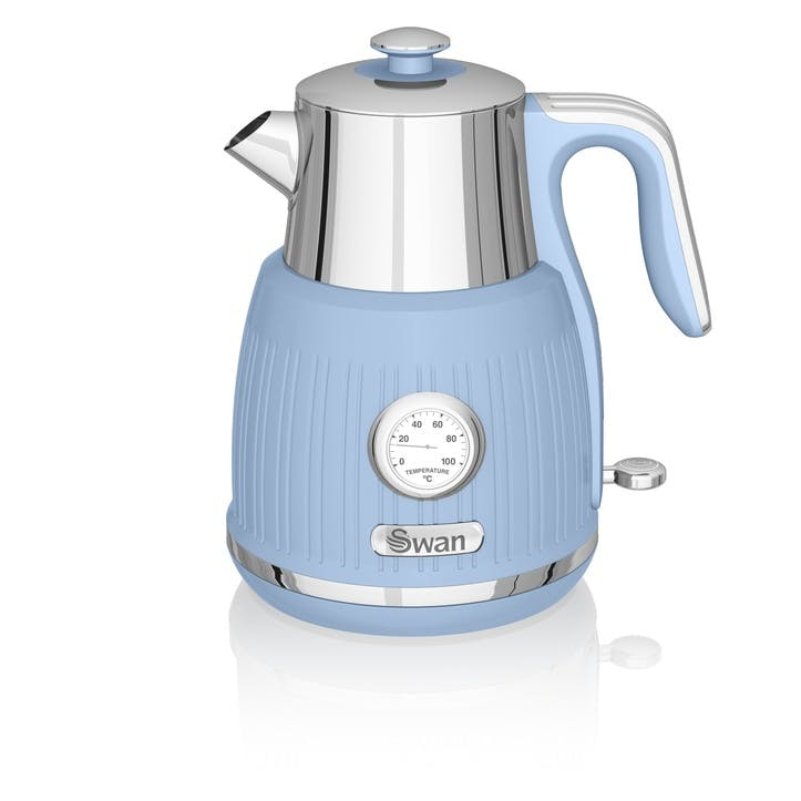 Retro Jug Kettle, Blue