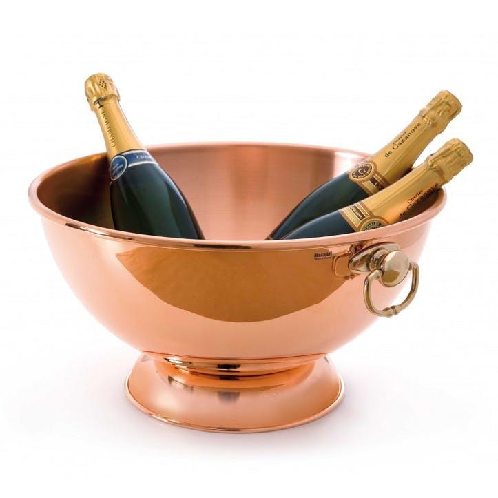 M'Tradition Champagne Bowl, 40cm, Copper