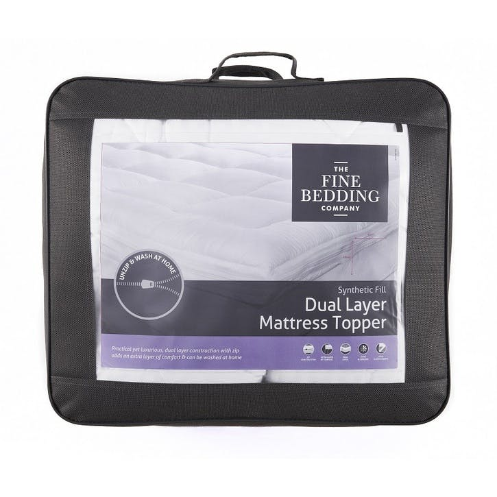 Dual Layer Double Mattress Topper