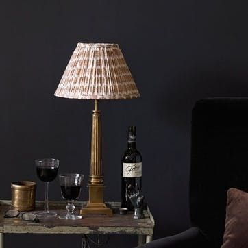 Admiral Table Lamp in Brass, 40cm