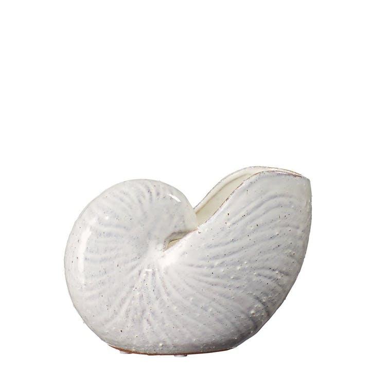 Ceramic Nautilus Ornament