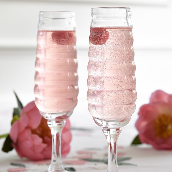 Champagne Glasses, Set of 2