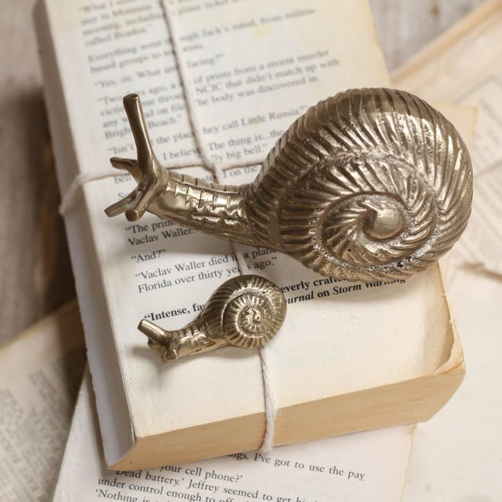 Snail Paper Weight - Small