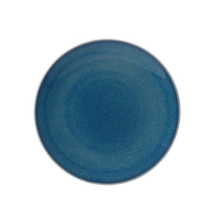 Art Glaze Coupe Plate - 21cm; Candied Sky