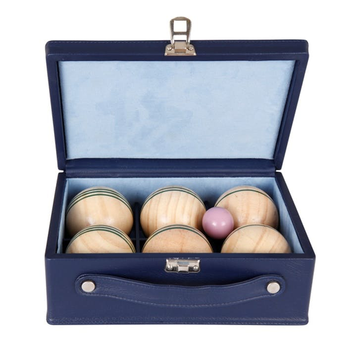 Luxury Indoor Boules Set, Sapphire