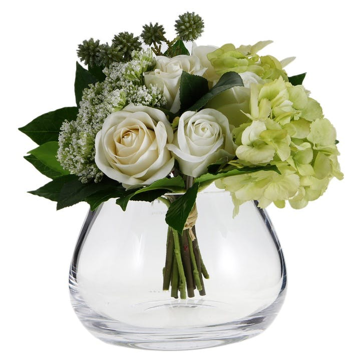 LSA Flower Table Arrangement Vase Clear