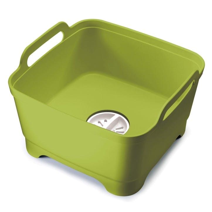 Wash&Drain Dishwashing Bowl, Green