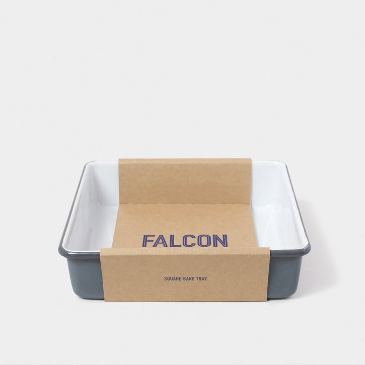 Square Bake Tray, Pigeon Grey