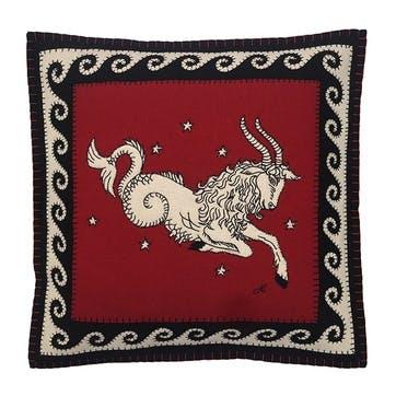 Capricorn Cushion, 46 x 46cm, Multi