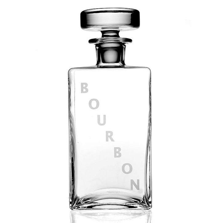 Lillian Squared Bourbon Decanter