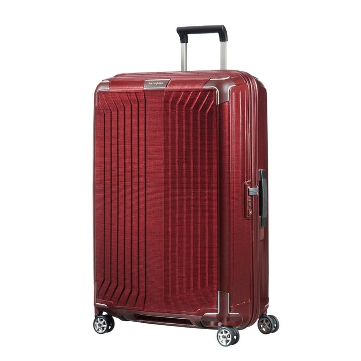 Lite-Box Spinner Suitcase, 75cm, Red
