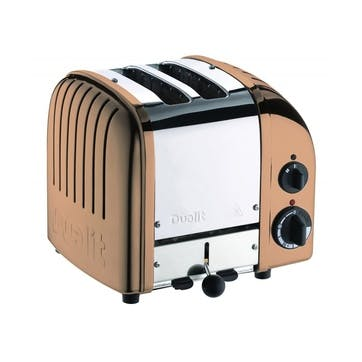 Classic Toaster, 2 Slot; Copper
