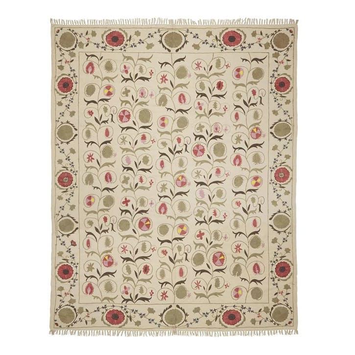 Sheki Hand-Embroidered Rug