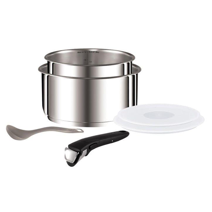 Ingenio Stainless Steel 6 Piece Saucepan Set