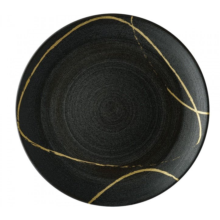 Sketch Charcoal Coupe Charger Plate - 34cm