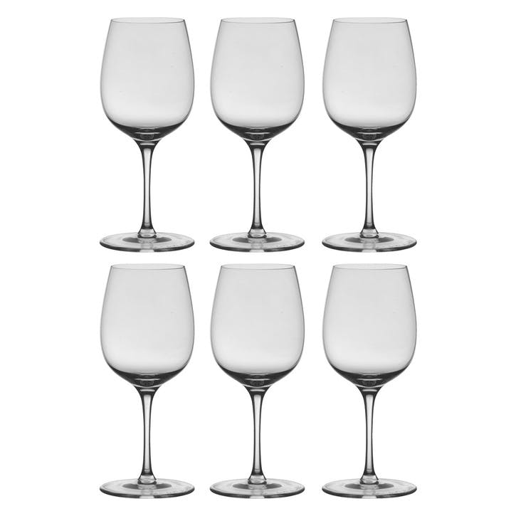Vienna White Wine Glass, Set of 6