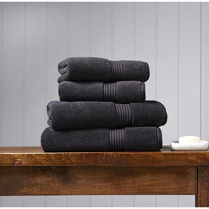 Supreme Supima Hygro Graphite Hand Towel